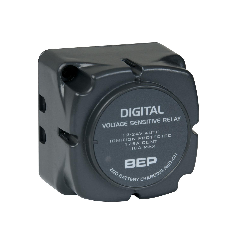 Bep 710 140a Digital Voltage Sensing Relay Dvsr 12 24v Mec Marine Current Uk